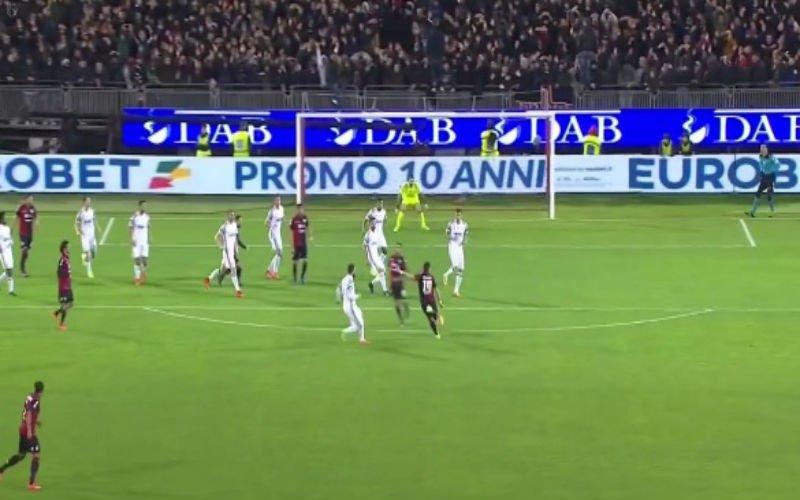 Op zijn 39e schudt Buffon deze fenomenale redding nog uit zijn handschoenen (Video)