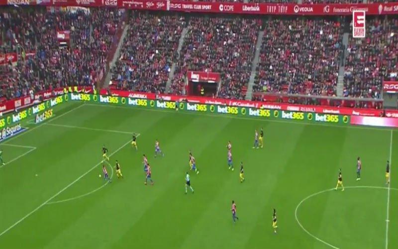 Carrasco scoort alweer voor Atlético Madrid na enorm geklungel achterin (Video)