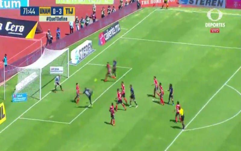 Gewezen spits van Club Brugge scoort met een erg spectaculaire volley (Video)