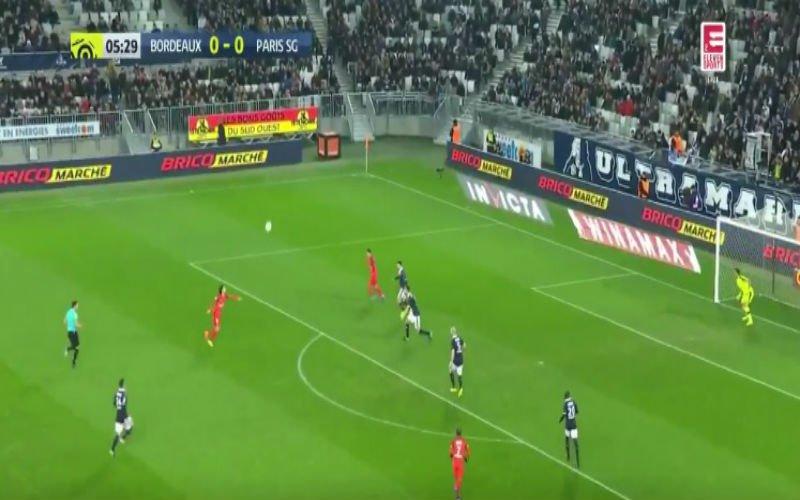 Edinson Cavani zet PSG op voorsprong met dit werelddoelpunt (Video)