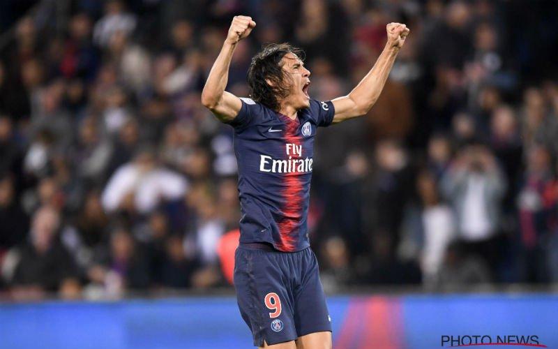 PSG walst over Saint-Etienne heen