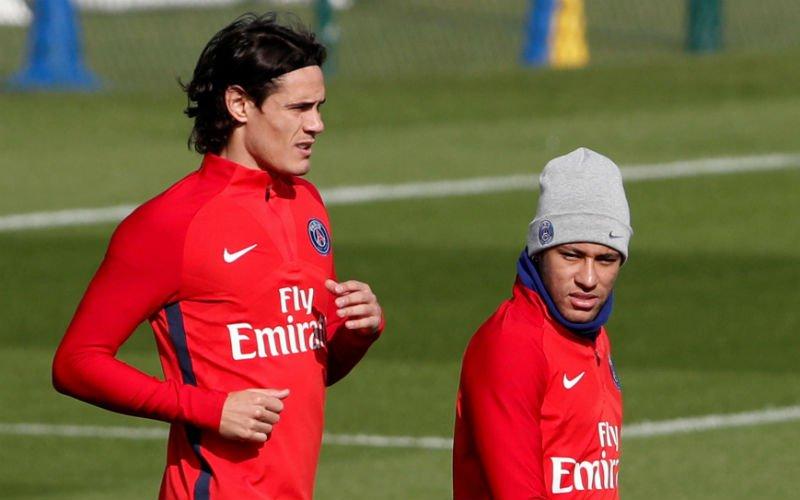 Dit waren de eerste woorden van Cavani tegen Neymar bij PSG
