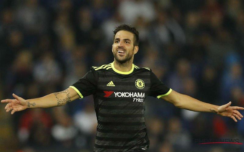 Fabregas verlaat Chelsea