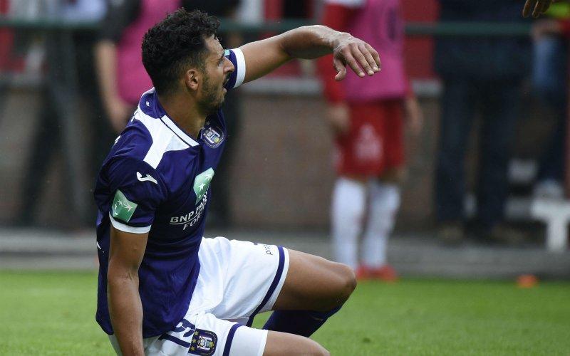 Chadli reageert na pijnlijk debuut bij Anderlecht: