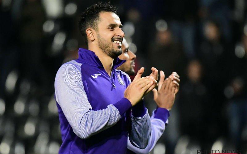 Anderlecht krijgt nieuws over Chadli: 'Van een transfer is geen sprake'