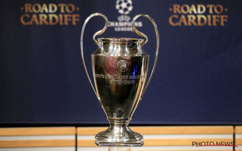 Speler uit eerste amateurreeks naar Champions League