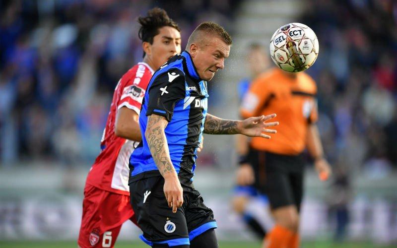 Opvallende concurrentie voor Jordy Clasie van Club Brugge