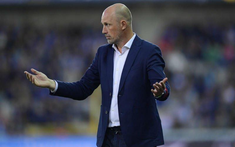 Érg vervelend nieuws voor Club Brugge en Philippe Clement