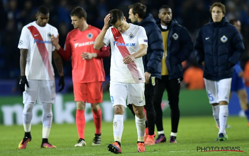 Club Brugge krijgt alweer een mokerslag