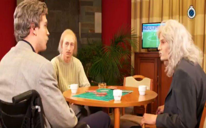 Club Brugge pakt uit met hilarisch filmpje: wat als Timmy Simons zijn 2000e wedstrijd speelt?