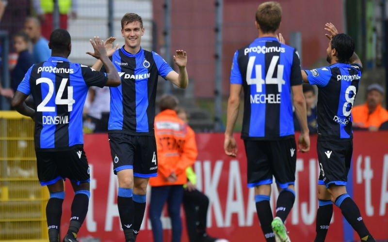 Verrassingen in ploegopstelling Club Brugge