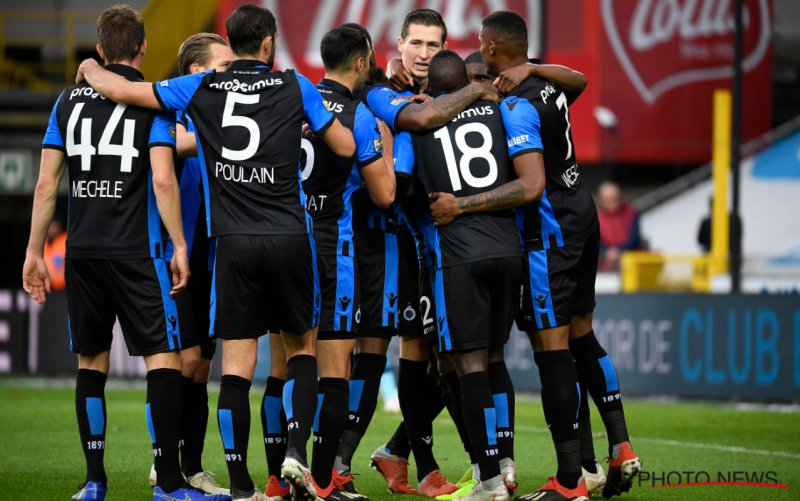 Club Brugge overklast Standard met Vanaken en Amrabat in de hoofdrol