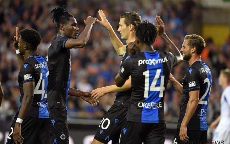 Club Brugge trekt met kleine bonus naar Kiev