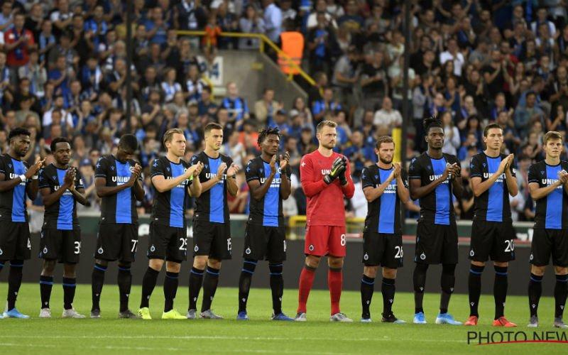 Alarmbellen gaan af bij Club Brugge: