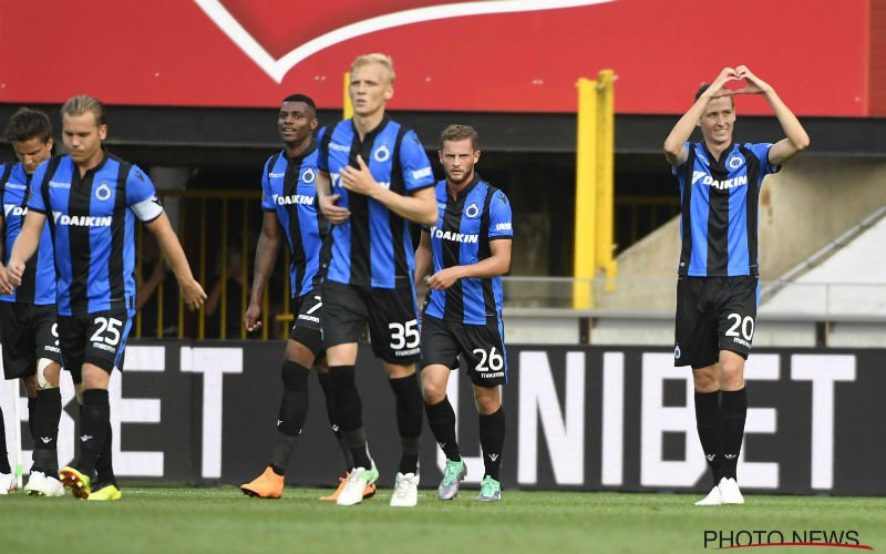 Club Brugge wint potige Supercup