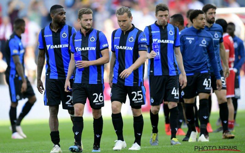 Over en out voor Club Brugge?
