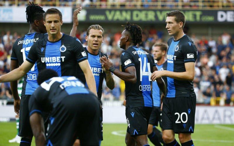 'Dit is echt een ongelofelijk gebrek aan respect van Club Brugge'