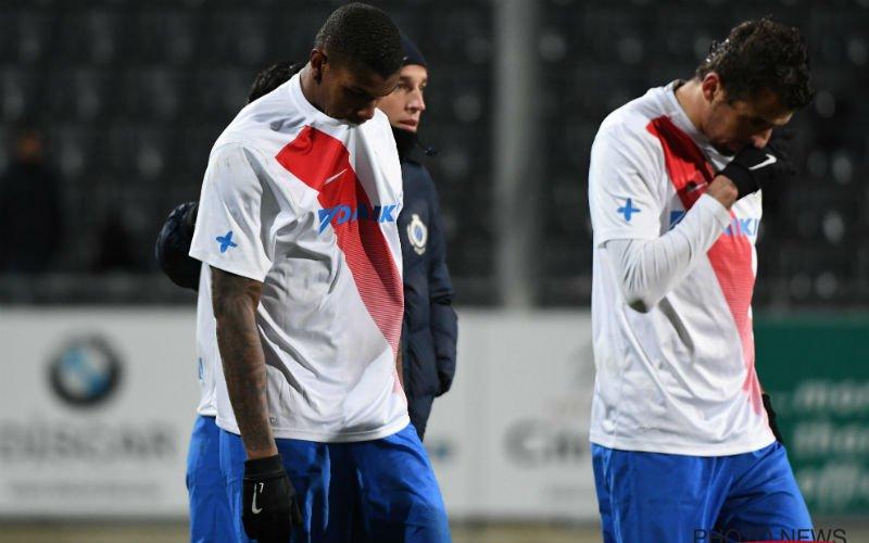 Bekeruitschakeling komt keihard aan bij Club Brugge: