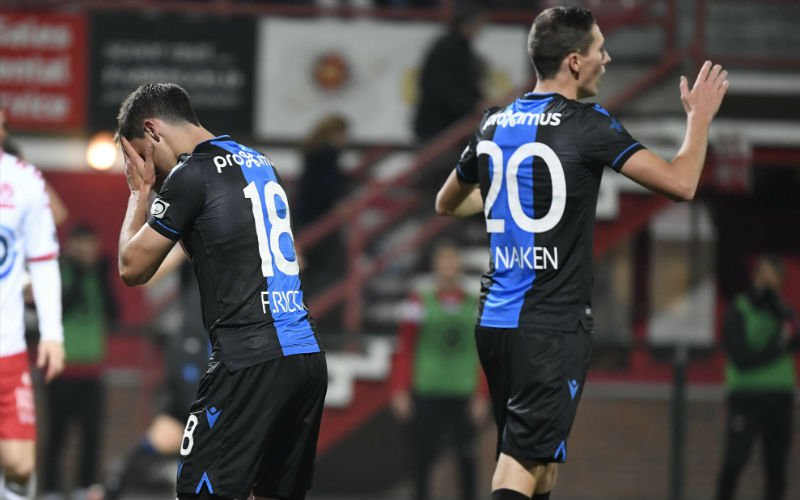 'IJskoude douche voor Club Brugge tegen Man United'
