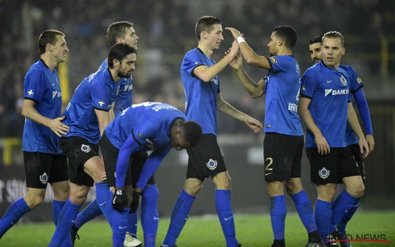 'Club Brugge pakt uit in oefenwedstrijd'