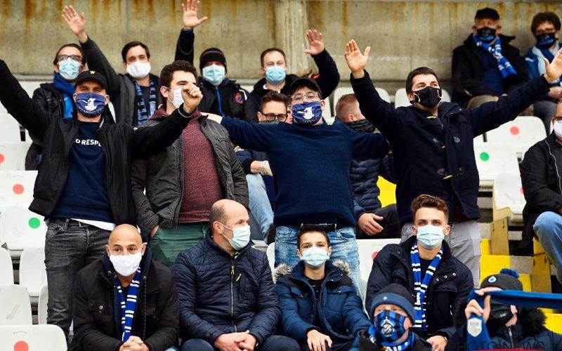 """Fans Club Brugge en Anderlecht met elkaar in de clinch tijdens RSCA-OHL: """"Zielig"""""""