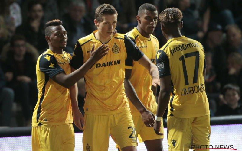 Uitstekend nieuws voor Club Brugge