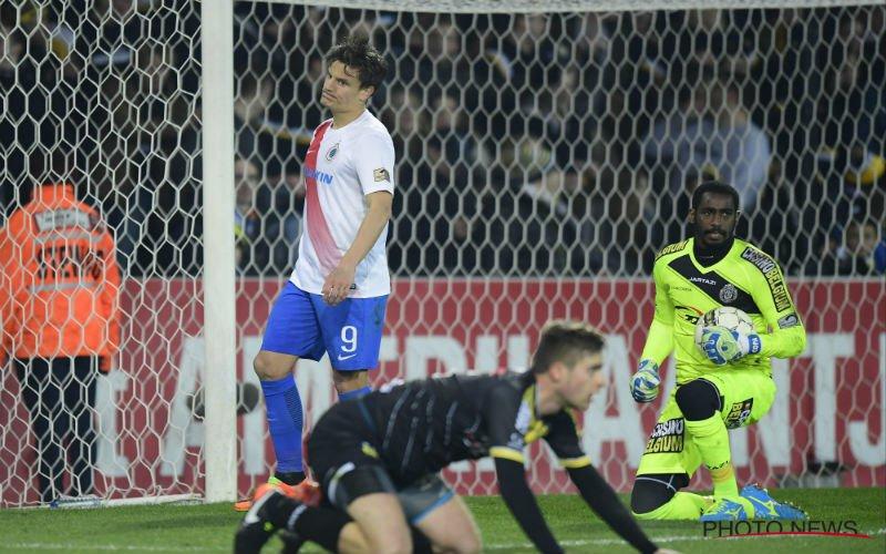 Club Brugge laat zich verrassen door Lokeren en moet leidersplaats delen met Anderlecht