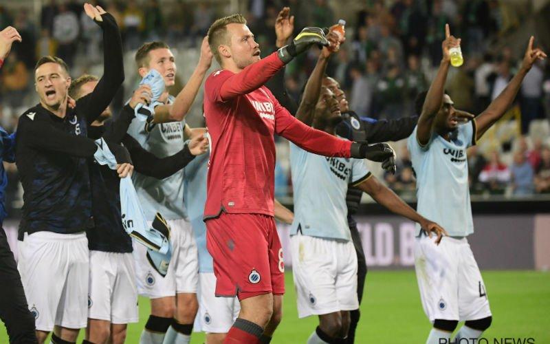 Club Brugge-fans geloven eigen ogen niet: