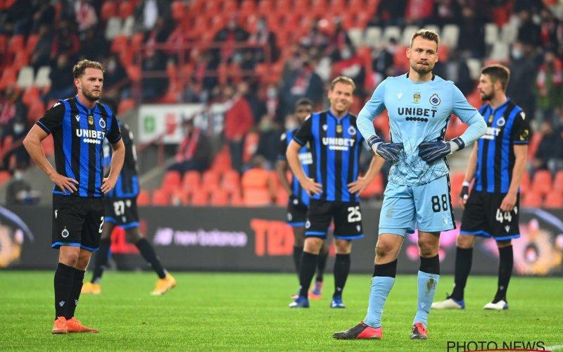 Club Brugge met handen in het haar: