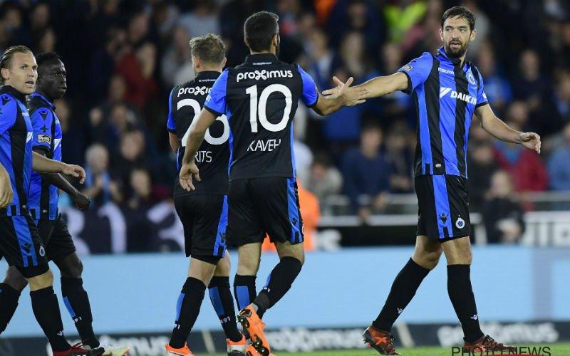 Club Brugge wordt gered door strafschopdoelpunt in 98ste minuut