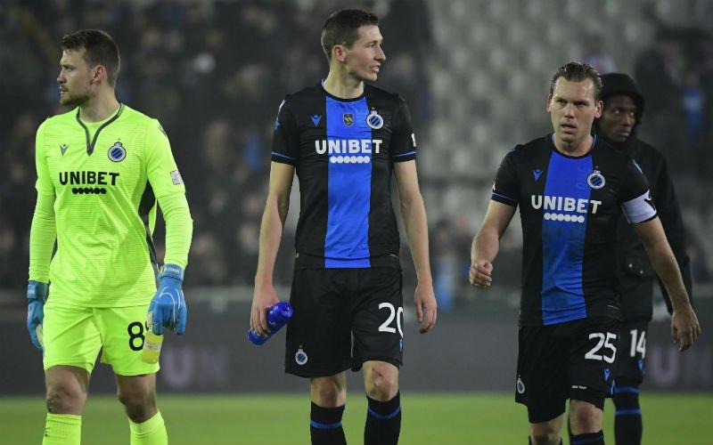 Club Brugge gefrustreerd over Zulte Waregem: