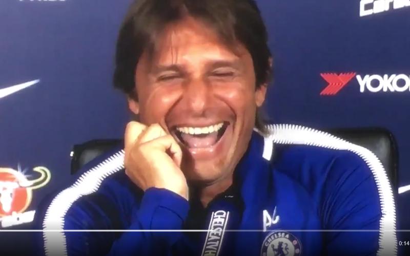 Conte maakt Costa compleet belachelijk op deze manier (video)