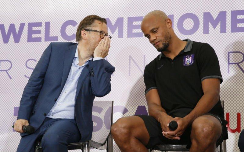'Marc Coucke gaat Anderlecht verkopen aan Vincent Kompany'
