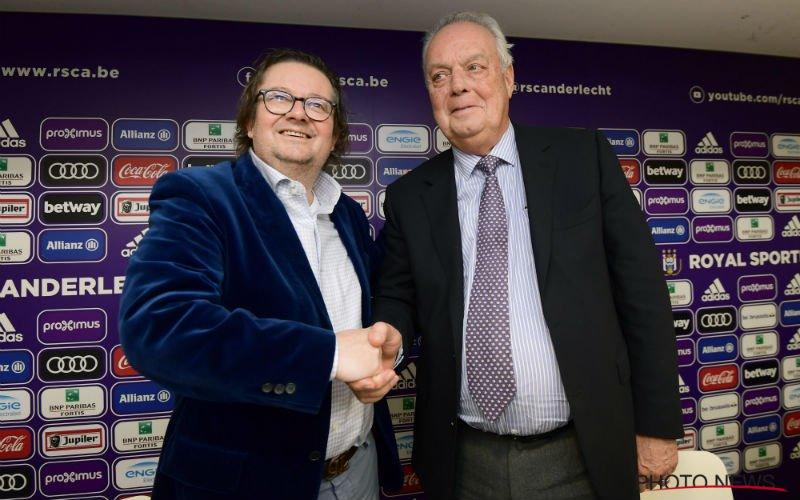 Coucke heeft slecht nieuws over inkomende transfers Anderlecht