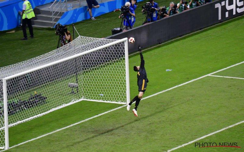 Courtois reageert na wereldprestatie tegen Brazilië: