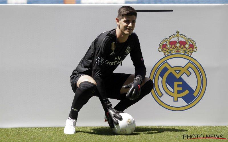 Thibaut Courtois op de bank bij Real Madrid?