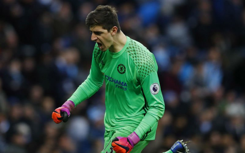 'Courtois hakt knoop door over Real Madrid'