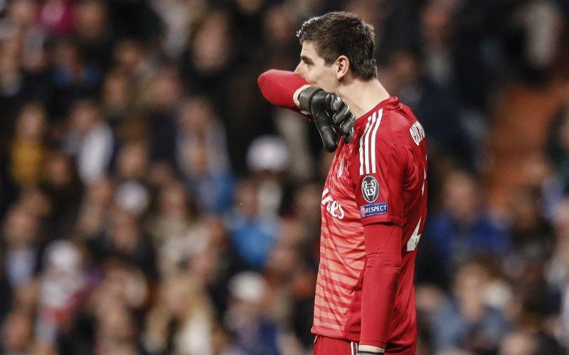 'Zidane gooit Courtois eruit bij Real en onderhandelt al met nieuwe doelman'