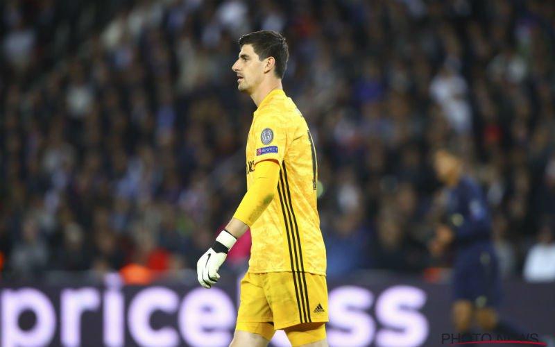 Real Madrid-fans kunnen amper geloven wat ze zien van Courtois