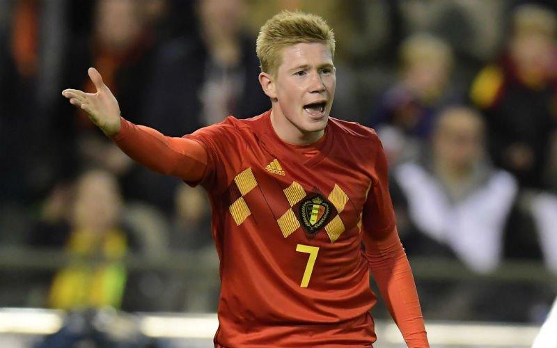 De Bruyne reageert op interesse van Real Madrid en Barcelona
