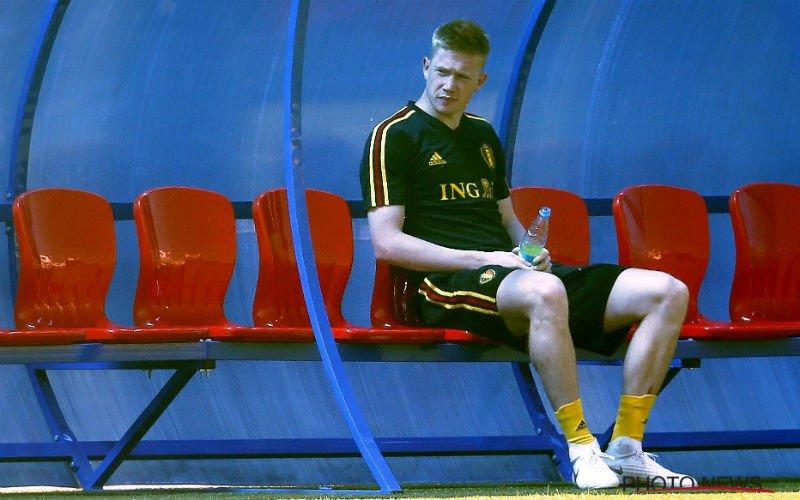 'De Bruyne scheldt Rode Duivel verrot op training'