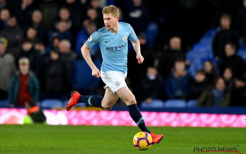 Kevin De Bruyne staat op ontploffen bij Manchester City