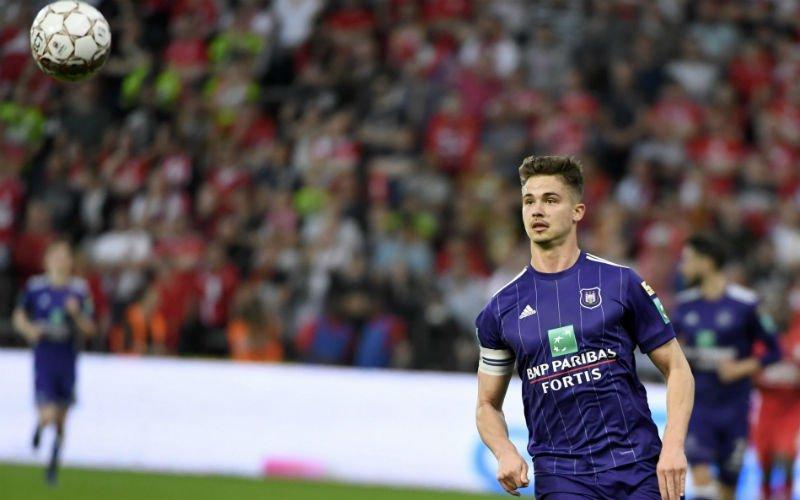 'Dendoncker verlaat Anderlecht om te onderhandelen over transfer'