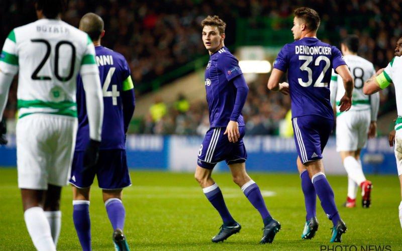 Anderlecht houdt extra kater over aan Champions League-avontuur