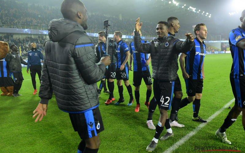 Vertrouwen bij Club Brugge is immens groot: