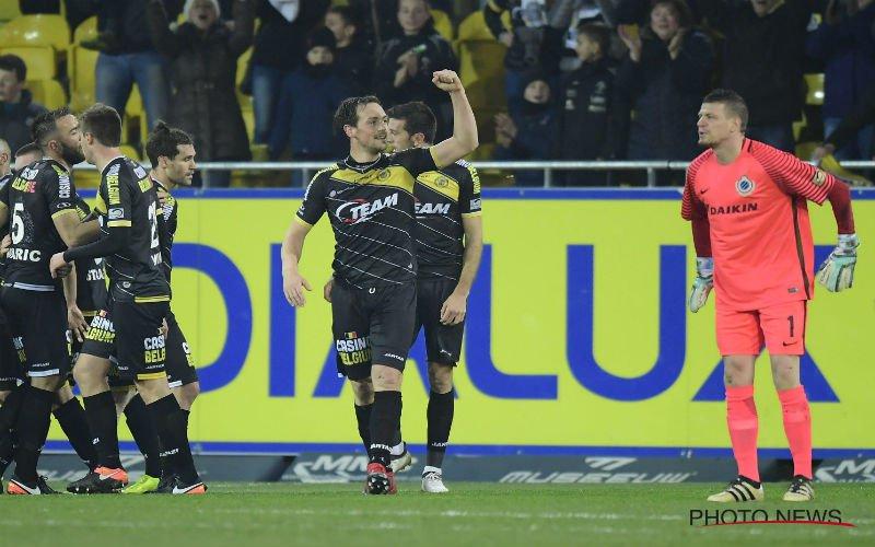 De Sutter geniet van doelpunt tegen ex-ploeg Club Brugge: