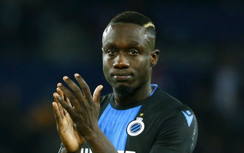 'Dit is nog de enige uitweg voor Mbaye Diagne bij Club Brugge'