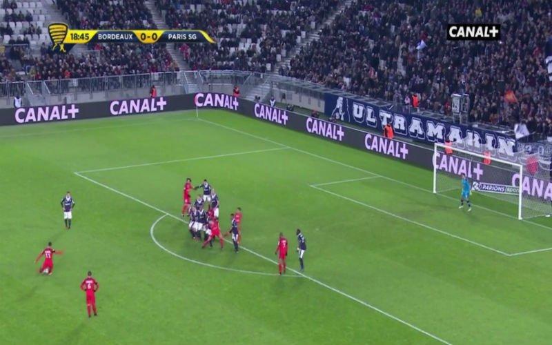 Di Maria scoort een perfecte vrije trap voor PSG (Video)