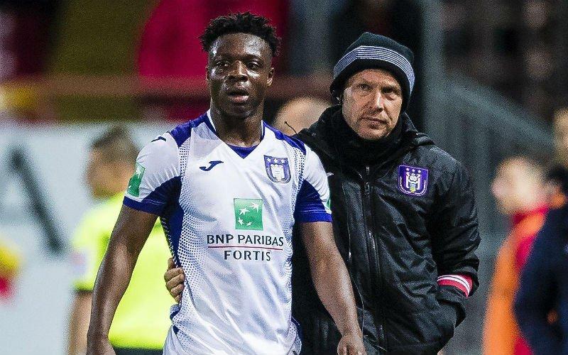 Problemen met jonge talenten bij Anderlecht: