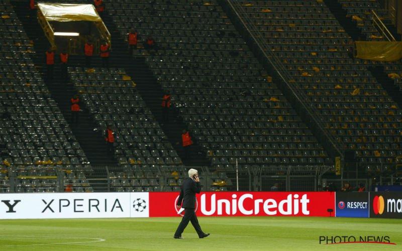 Zeer drastische maatregelen voor Dortmund - Monaco vanavond